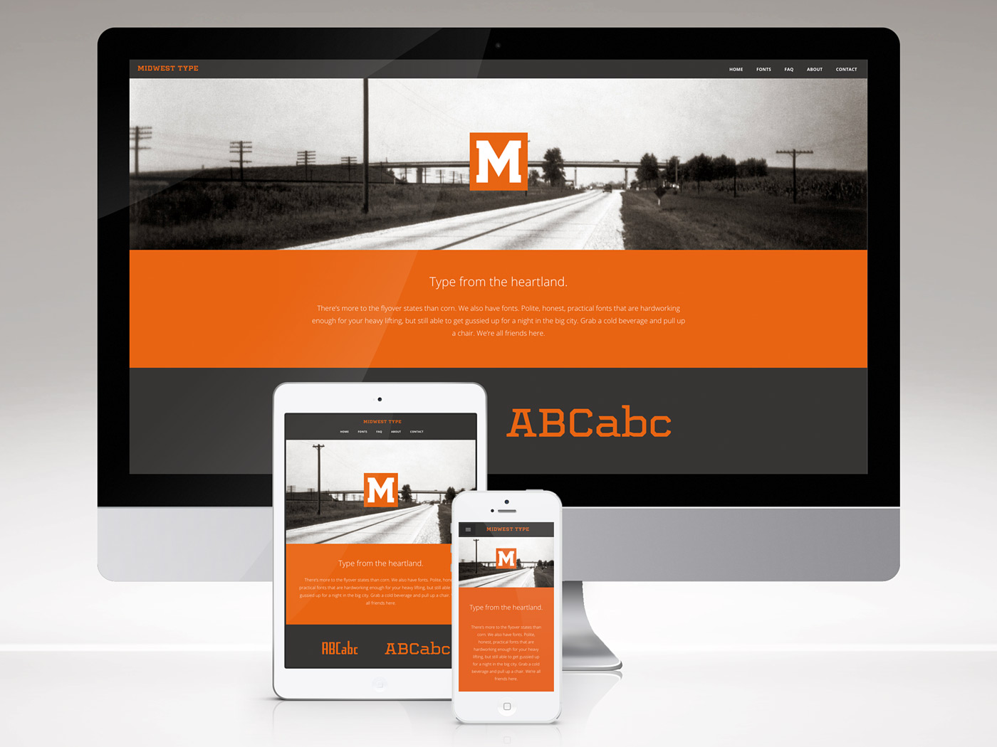 Midwest Type website